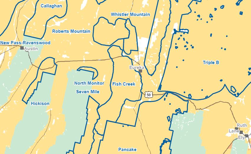 Fish Creek HMA Map-1