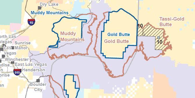 Gold Butte Map-1