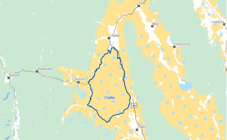 Challis HMA Map-1