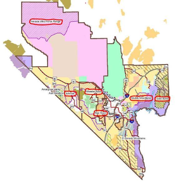 Southern Nevada Gather Plan EA-1
