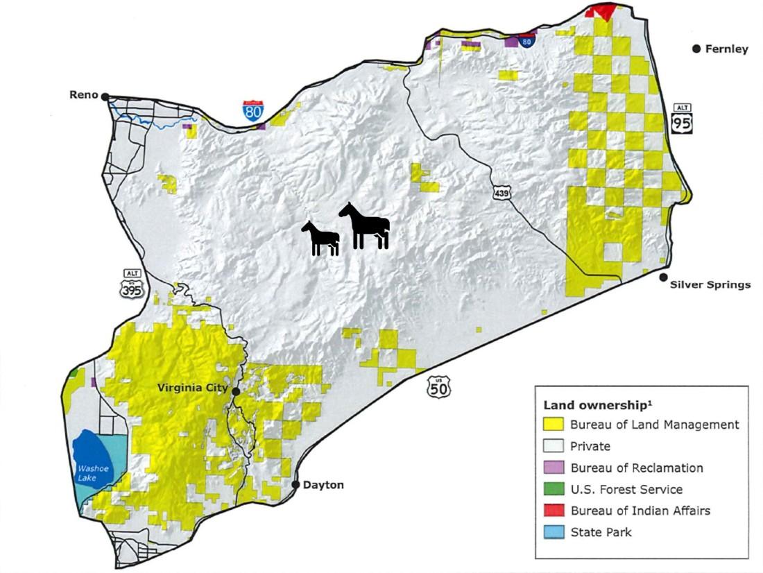 Vriginia Range Land Ownership Map Large 01-25-21