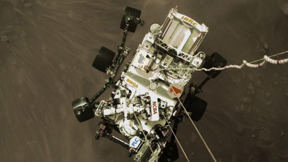 Peseverence Rover 02-26-21