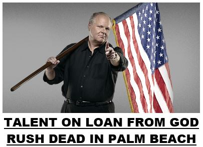 Rush Limbaugh Dead 02-17-21