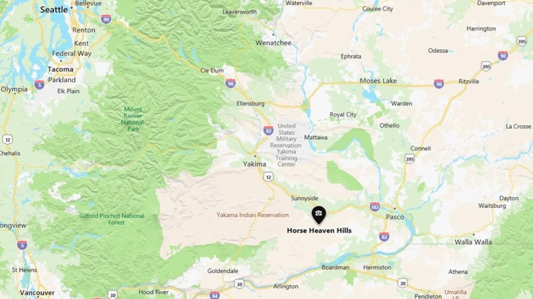 Horse Heaven Hills Map 03-27-21