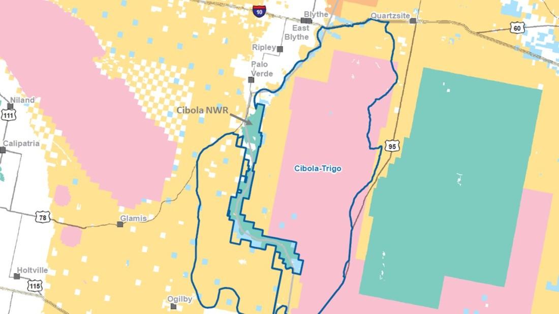 Cibola-Trigo HMA Map 07-08-21