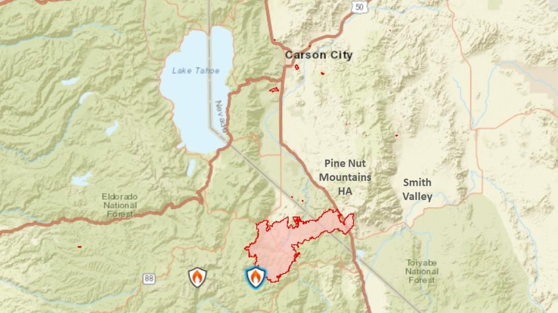 Tamarack Fire Map 07-23-21 AM